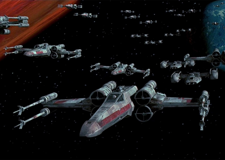 iconic x-wing