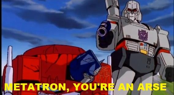 Megatron beats Optimus