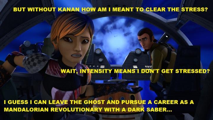 Sabine with Kanan