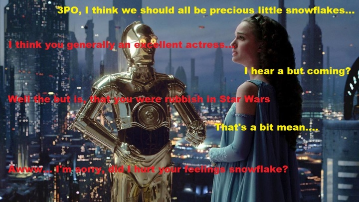 C3PO and Padme
