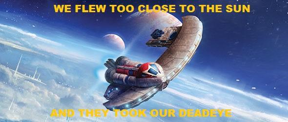 we flew too close