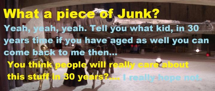 Millenium Falcon Junk