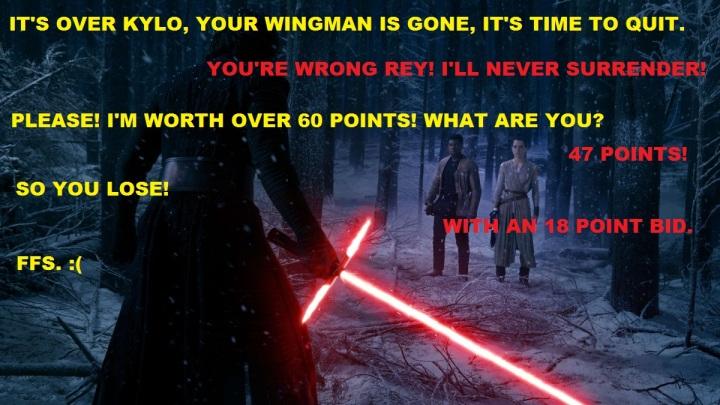 Kylo vs Rey