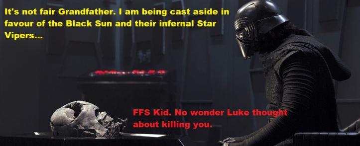 kylo rants at vader 3