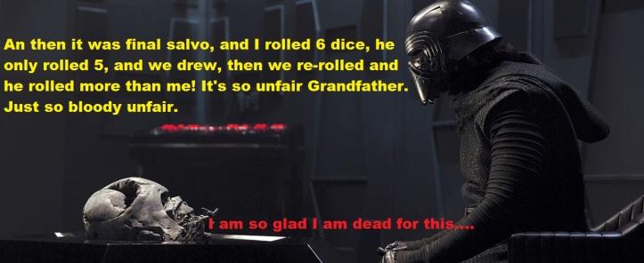 kylo rants at vader